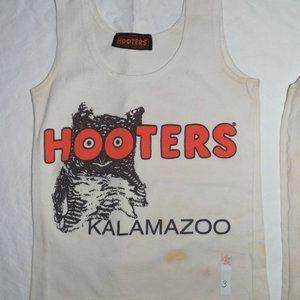 Hooters Girl Sexy Unifom Tank Kalamazoo MI Size XS